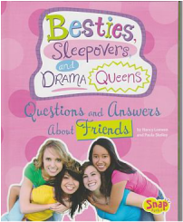 Besties, Sleepovers, and Drama Queens book cover