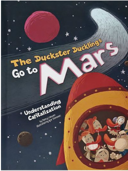 The Duckster Ducklings Go to Mars book cover