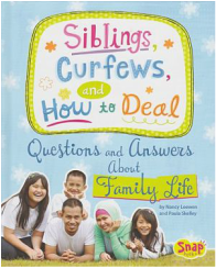 Siblings, Curfews, and How to Deal book cover