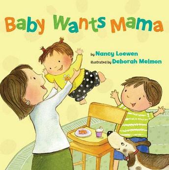Baby Wants Mama book cover