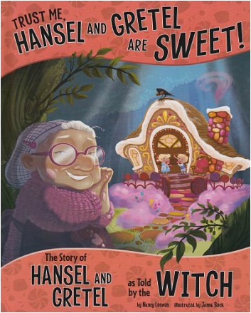 Trust Me, Hansel and Gretel are Sweet book cover