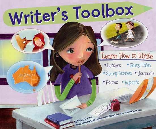 Writer's Toolbox book cover